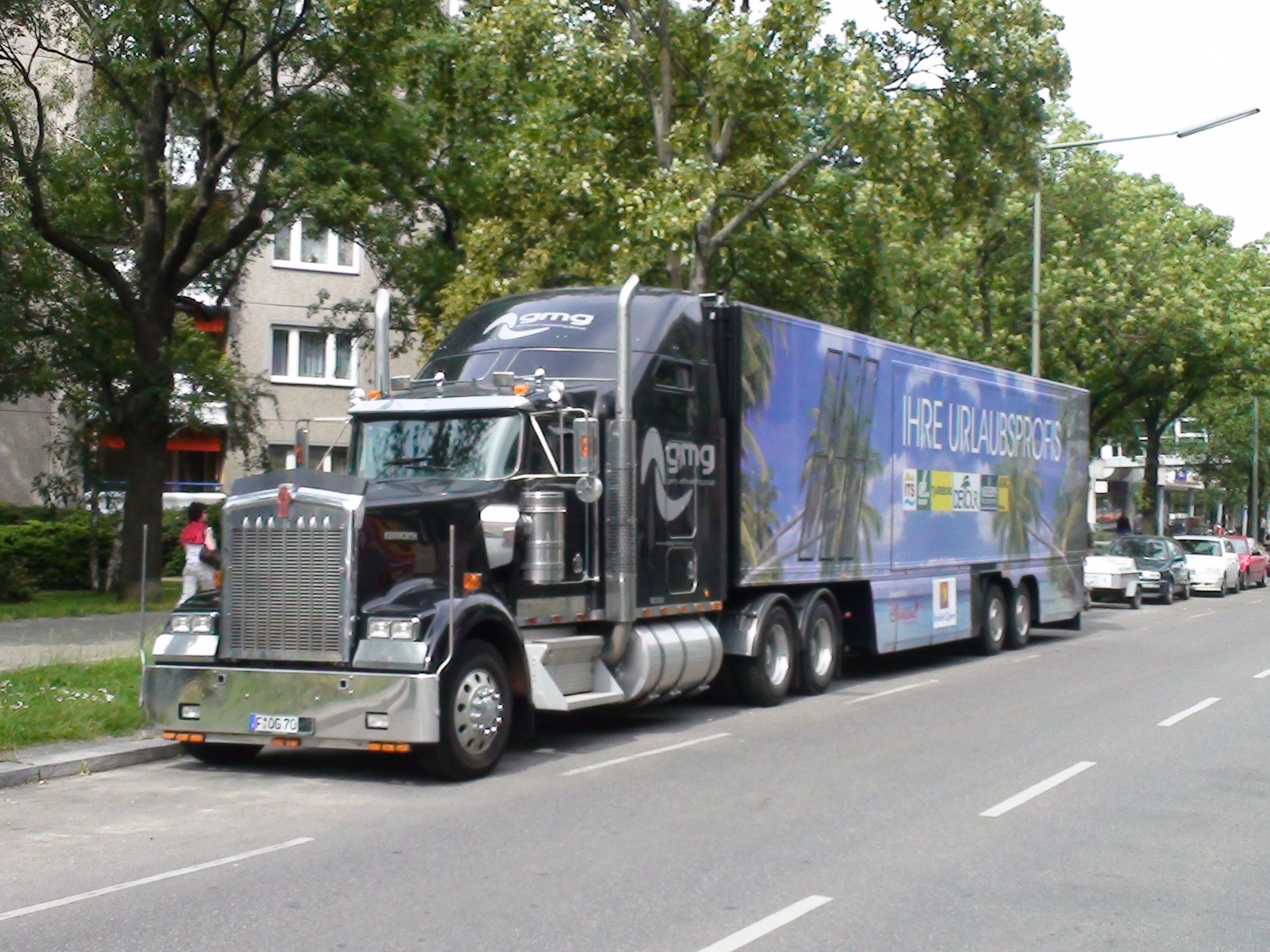 gmg show truck
